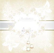 Free Invitation Anniversary Card For Design Stock Photo - 27236950