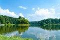 Free Island And Lake Royalty Free Stock Photo - 27240025