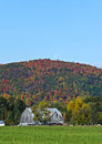 Free Fall Mountain Colours With Barn In Foreground Stock Photos - 27240203