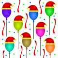 Free Christmas Balloons Royalty Free Stock Images - 27243609