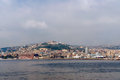 Free Wheather Event: Naples From The Sea In Bad Weather Stock Photo - 27245550