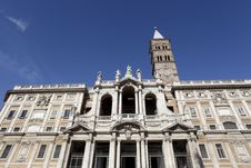 Free The Basilica Di Santa Maria Maggiore In Rome Royalty Free Stock Photo - 27240515