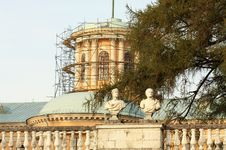 Free Historic Building Under Restoration Royalty Free Stock Photos - 27241588