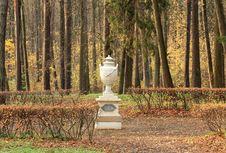 Free Decorative Vase In Park Stock Photo - 27242210