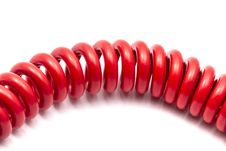 Free Red Cable Stock Images - 27245474
