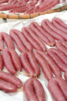 Free Sausage Stock Photography - 27248122