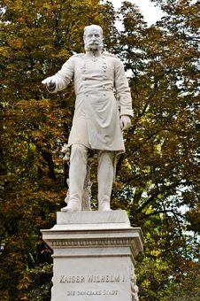 Free Kaiser Wilhelm I Monument Royalty Free Stock Image - 27249276