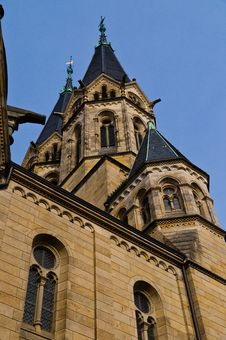 Free Wiesbaden Ringkirche Stock Photography - 27249382