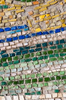 Old Street Mosaic Royalty Free Stock Photography
