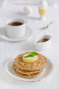 Free Pancake With Pear Royalty Free Stock Photos - 27253238