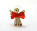Free Christmas Wooden Angel Stock Images - 27255074