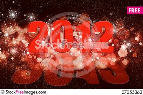 Free Christmas Balls Card Stock Photos - 27255363