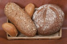 Group Of Different Types Of Bread