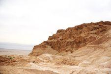 Free Masada Fortress Royalty Free Stock Photo - 27251995