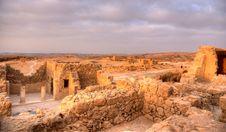 Free Masada Fortress Royalty Free Stock Image - 27251996