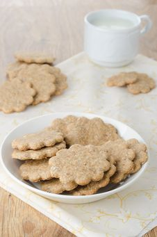 Free Gingerbread Cookie Royalty Free Stock Photo - 27253145