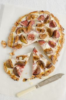 Tart With Figs And Goat Cheese