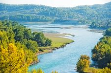 Free Manavgat River Valley. Royalty Free Stock Photo - 27256015