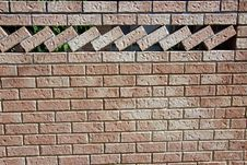 Free Ornamental Brick Wall Stock Photos - 27257813
