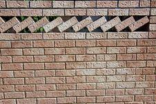 Free Ornamental Brick Wall Stock Photos - 27257813