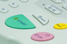 START Button. Stock Photography