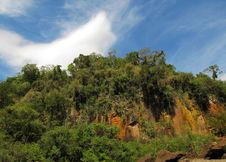Wild Nature Of South America. Old Rocks. Royalty Free Stock Image