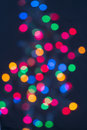 Free Christmas Lights In Distance Royalty Free Stock Image - 27260866
