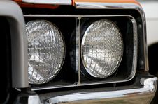 Free Double Headlights Royalty Free Stock Photography - 27262317