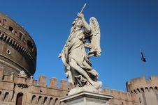Free Castel SantAngelo2 Royalty Free Stock Image - 27264216
