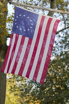 Free 13-Star Flag Royalty Free Stock Photos - 27267468