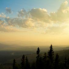 Free Beautiful Sunset Landscape Stock Photography - 27272972