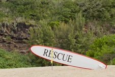 Rescue Board Stock Photography