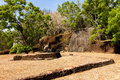 Free Gardens Of Sigiriya Lion&x27;s Rock Fortress Royalty Free Stock Image - 27281146