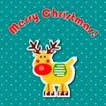 Free Cartoon Christmas Reindeer Stock Photos - 27281833