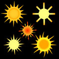 Free Set Of The Sun Stock Images - 27289094