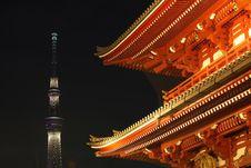 Asakusa  Temple At Tokyo Japan Stock Photography