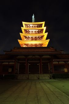 Asakusa  Temple At Tokyo Japan Royalty Free Stock Images