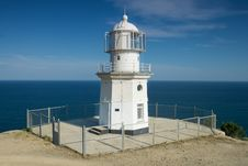 Free Lighthouse By The Sea Royalty Free Stock Photo - 27282855
