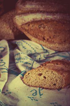 Free Retro Bread Set Stock Images - 27286584