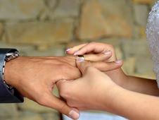 Wedding Ring Royalty Free Stock Photos