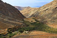 Free Fuerteventura Valley Betancuria-Cofete Stock Photography - 27289012
