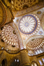 Free Blue Mosque Ceiling Stock Photography - 27294172