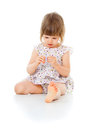 Free Little Girl In A Dress Stock Photos - 27296433
