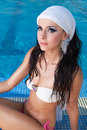 Free East Beauty In Pool Stock Image - 27298561