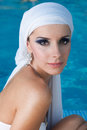 Free East Beauty In Pool Royalty Free Stock Images - 27298719