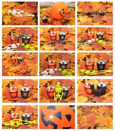 Free Halloween Outdoor Set Stock Photos - 27290773