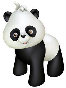 Free Panda Royalty Free Stock Photo - 27291095