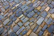 Free Stone Paving Pattern. Royalty Free Stock Images - 27293279