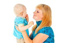 Free Happy Mom And Baby Stock Photos - 27296803