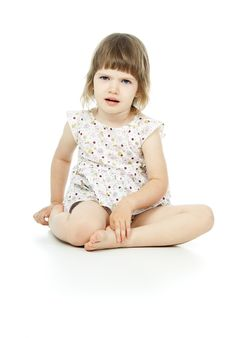Free Beautiful Little Girl Stock Photography - 27297282